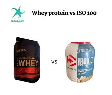 الفرق بين واي بروتين و ايزو 100